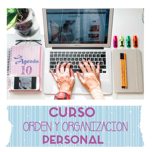 Curso On Line de orden y organización personal: creación de rutinas y trabajosespecíficos.
